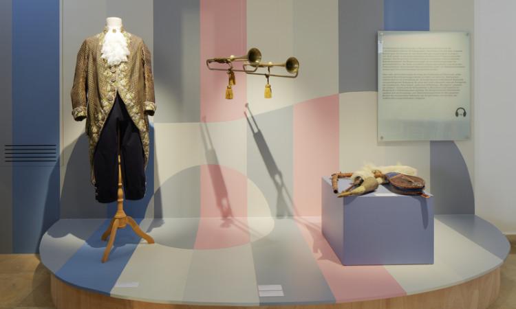 Ausstellung im Landesmuseum Burgenland, Die gro§e Musikgeschichte, ein Streifzug durch die burgenlŠndisch-pannonische Musikgeschichte